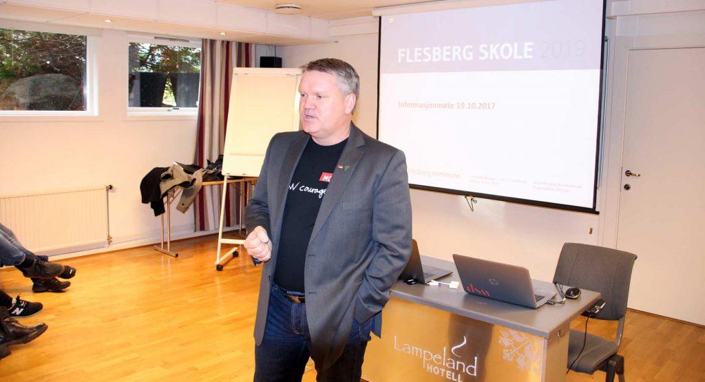 Rådmann i Flesberg Jon Gjæver Pedersen gleder seg til prosessen som nå skyter fart.